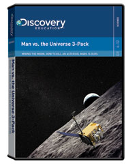 Man vs. the Universe 3-Pack DVD
