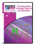 The Interactive Periodic Table of the Elements 4-Pack DVD