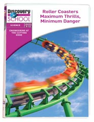 Engineering at the Cutting Edge: Roller Coasters: Maximum Thrills, Minimum Danger DVD