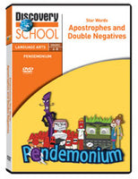 Pendemonium: Star Words: Apostrophes and Double Negatives DVD