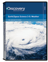 The Language of Science:  Earth/Space Science 3-5: Weather DVD