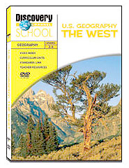 U.S. Geography: The West DVD