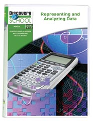 Discovering Algebra With Graphing Calculators: Representing and Analyzing Data DVD