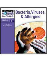 Bacteria, Viruses  and  Allergies CD-ROM