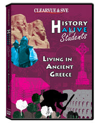 History Alive for Students: Living in Ancient Greece DVD