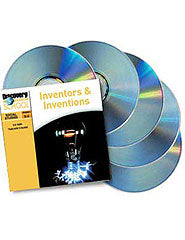 Inventors  and  Inventions 5-Pack CD-ROM