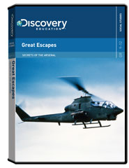 Secrets of the Arsenal: Great Escapes DVD
