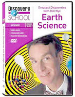 Greatest Discoveries with Bill Nye: Earth Science DVD