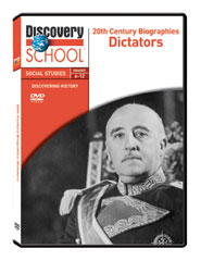 20th Century Biographies: Dictators DVD