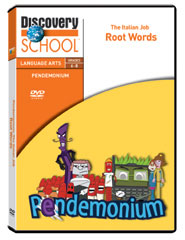 Pendemonium: The Italian Job: Root Words DVD