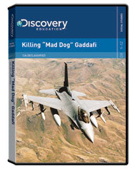 "CIA Declassified:  Killing ""Mad Dog"" Gaddafi DVD"