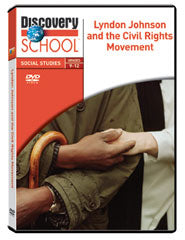 Lyndon Johnson and the Civil Rights Movement DVD