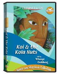 Rabbit Ears Storybook Collection: Koi  and  the Kola Nuts DVD
