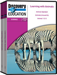 Learning With Animals 5-Pack DVD