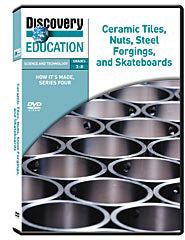 How It's Made: Ceramic Tiles, Nuts, Steel Forgings, and Skateboards DVD
