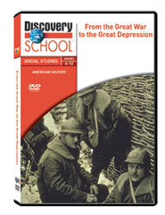 From the Great War to the Great Depression DVD