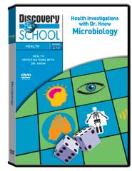 Health Investigations With Dr. Know: Microbiology DVD