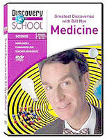 Greatest Discoveries with Bill Nye: Medicine DVD