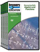 Discovering Math: Algebra and Functions 4-Pack DVD