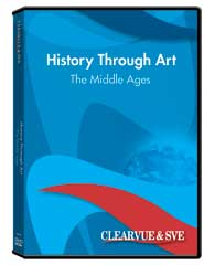 History through Art: The Middle Ages DVD