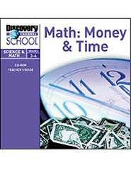 Math: Money  and  Time CD-ROM