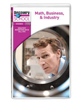 Greatest Inventions with Bill Nye: Math, Business,  and  Industry DVD