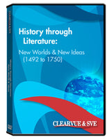 History through Literature: New Worlds  and  New Ideas (1492 to 1750) DVD