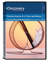 The Language of Science:  (Spanish) Physical Science K-2: Force and   Motion DVD