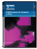STEM Careers for Students 2-Pack DVD