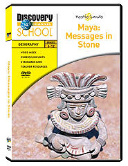 Mystic Lands: Maya: Messages in Stone DVD