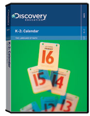 The Language of Math: K-2: Calendar  DVD