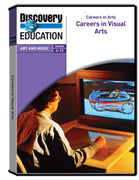 Careers in Arts: Careers in Visual Arts DVD