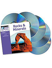 Rocks  and  Minerals 5-Pack CD-ROM