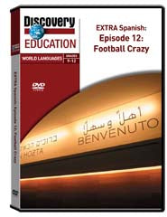 EXTRA Spanish Episode 12: Football Crazy DVD