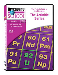 The Periodic Table of the Elements: The Actinide Series DVD