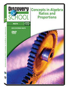 Concepts in Algebra: Ratios and Proportions DVD