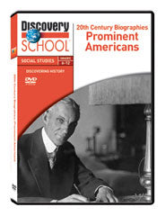 20th Century Biographies: Prominent Americans DVD