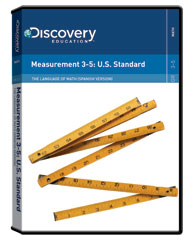 The Language of Math: Measurement 3-5: U.S. Standard (Spanish) DVD