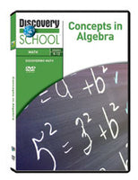 Concepts in Algebra DVD