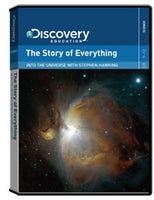 Into the Universe with Stephen Hawking: The Story of Everything DVD