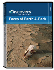 Faces of Earth 4-Pack DVD