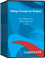 Biology Concepts for Students 9-Pack DVD