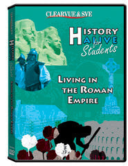 History Alive for Students: Living in the Roman Empire DVD