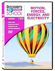 Motion, Forces, Energy, and Electricity DVD