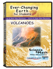 Ever-Changing Earth for Students: Volcanoes DVD
