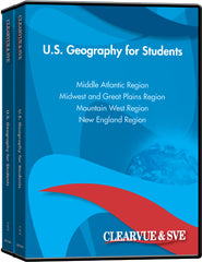 U.S. Geography for Students 7-Pack DVD