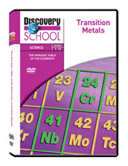 The Periodic Table of the Elements: Transition Metals 3-Pack DVD
