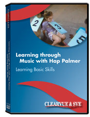 Learning through Music with Hap Palmer: Learning Basic Skills DVD