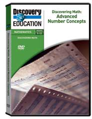 Discovering Math: Advanced Number Concepts DVD