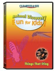 Animal Discovery Fun for Kids: Things that Sting DVD